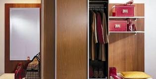 Избор на двукрилен гардероб